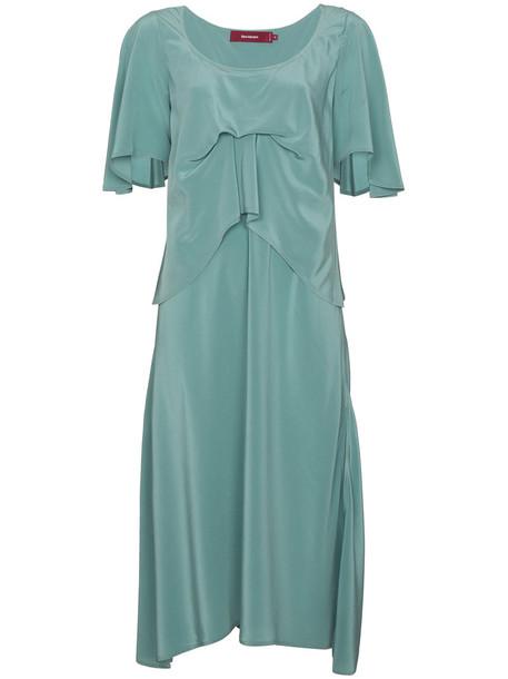 SIES MARJAN dress silk dress women blue silk