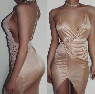 dress halter dress backless dress nude dress wrap dress slit dress