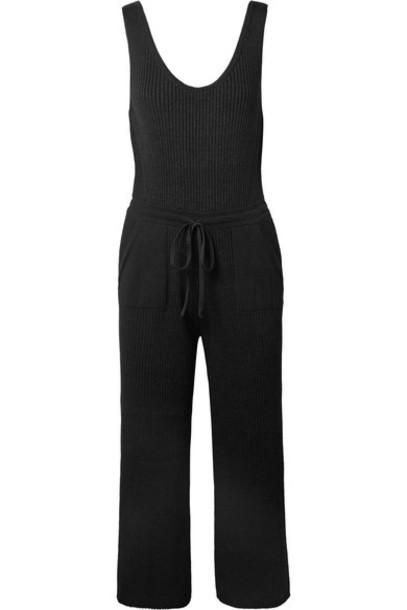 ELEVEN SIX jumpsuit cotton black