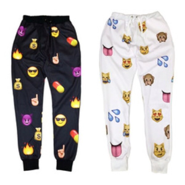 emoji pants sweatpants sweatpants emoji pants