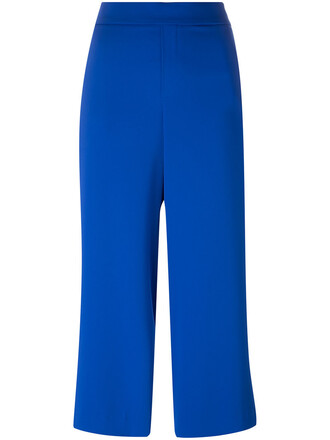 women blue pants