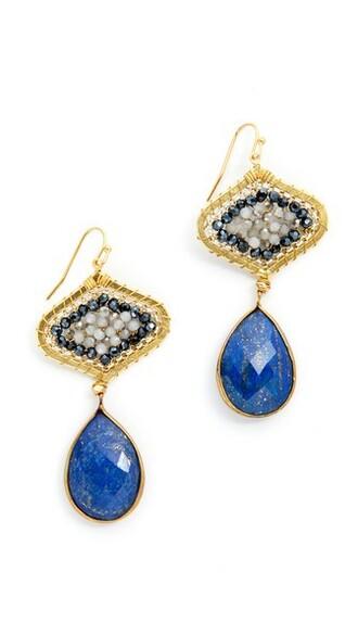 dark earrings jewels
