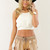 SABO SKIRT  Backless Dune Crop - Off White - 32.0000