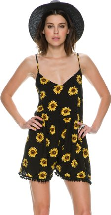 REVERSE SUNFLOWER ROMPER > Womens > Featured | Swell.com