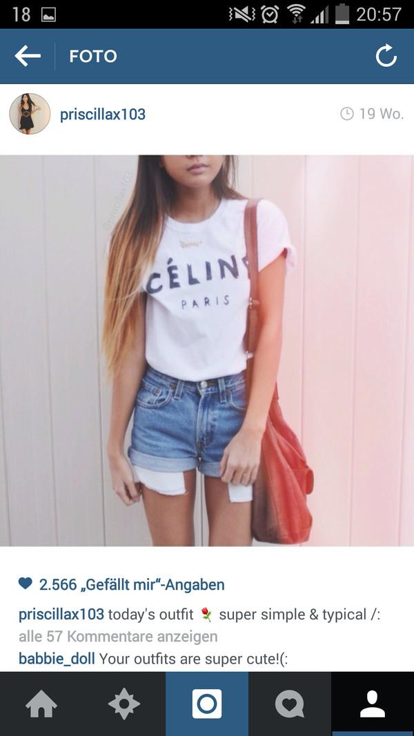 shirt t-shirt hair pants