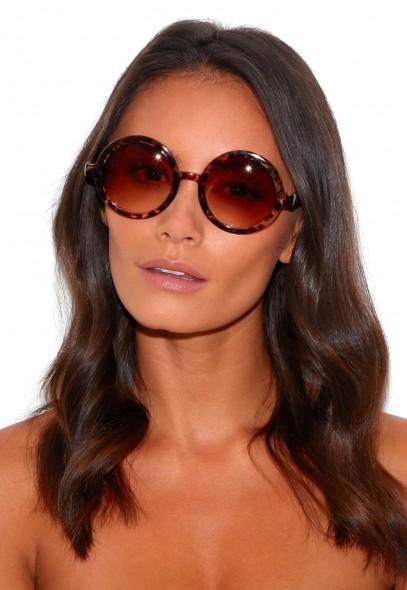 Machi Animal Print Sunglasses - sunglasses - missguided