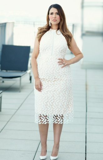 gumboot glam blogger dress shoes jewels white dress maternity dress pumps high heels