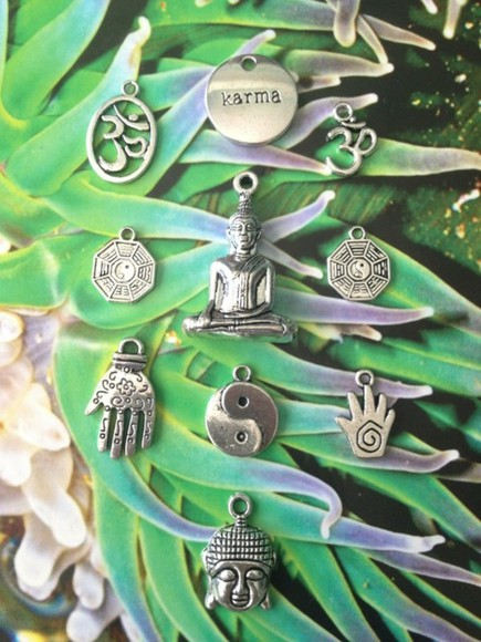 native american jewels karma yin yang charms