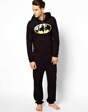 ASOS | Asos Onesie With Batman Print at ASOS