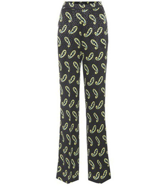 ETRO silk black pants