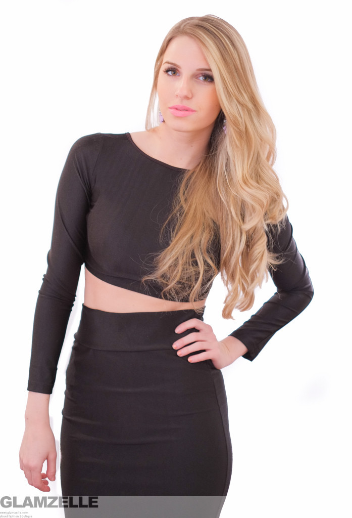"""we own the night"" two piece bodycon dress (4 colors available) – glamzelle"