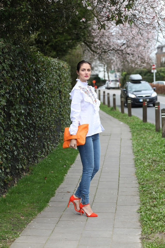 from brussels with love blogger shirt jeans shoes bag