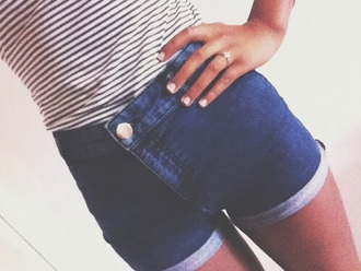 shorts dark blue summer shorts dark blue shorts high waisted shorts