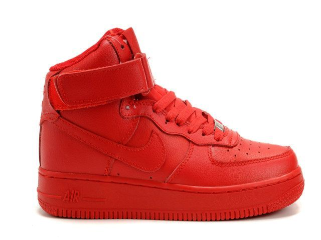 nike shoes air force red. all red hi top air forces nike shoes force i