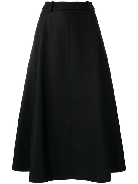 Aalto skirt knitted skirt women black wool