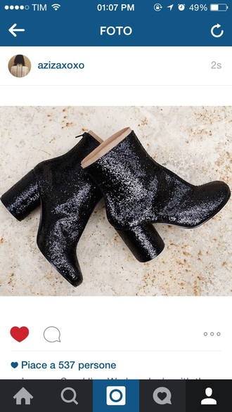 shoes boots black boots little black boots indian boots style sparkles glitter dress chealsea
