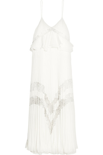 dress midi dress midi lace white