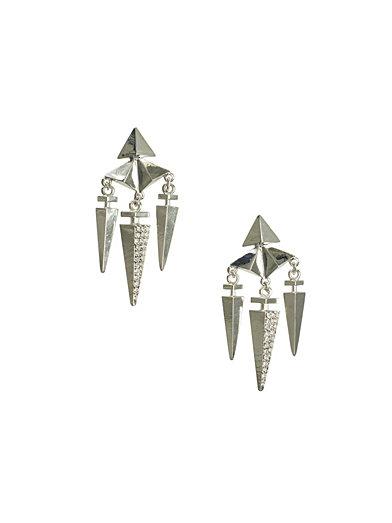 Karma Earrings - Nly Trend - Sølv - Smykker - Tilbehør - Kvinne - Nelly.com