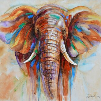 home accessory preciousy painting bedroom pictures elephant