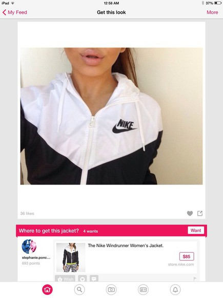 jacket white jacket white and black nike jacket athletic jacket white nike jacket