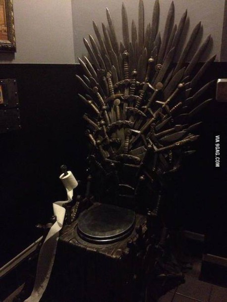 Home Accessory Toilet Wc Bathroom Game Of Thrones Game Of