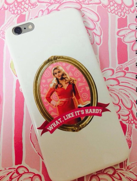 phone cover legally blonde iphone case