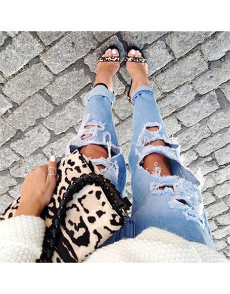 jeans ripped jeans vintage ripped blogger style wow rippes trend