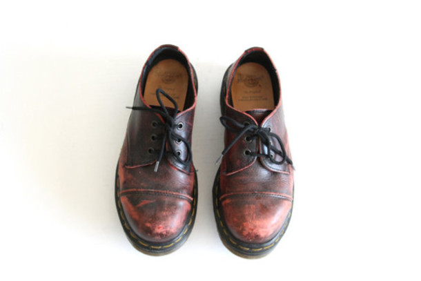 shoes etsy vintage old DrMartens
