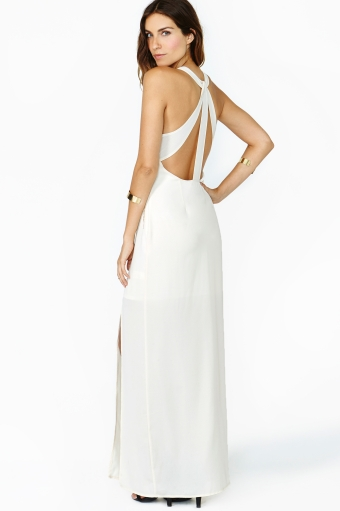 Nasty gal beacon maxi dress in  clothes dresses midi   maxi at nasty gal