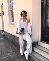 bag,ba,blazer,pants,top,shoes,sunglasses