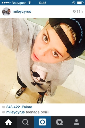 hat black cap miley cyrus black hat