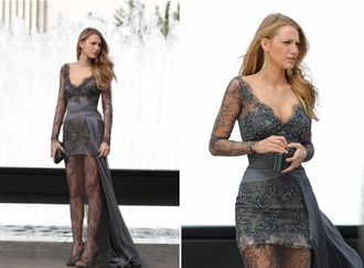 dress serena van der woodsen blake lively gossip girl prom dress prom dress