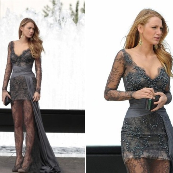 Serena van der woodsen prom