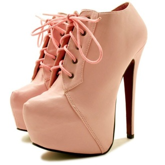 shoes high heels booties lace up boots platform shoes platform lace up boots