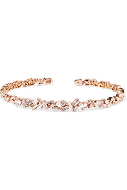 Suzanne Kalan cuff rose gold rose gold jewels