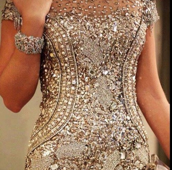 dress prom dress beige dress sequin prom dresses long prom dresses 2014 prom dresses backless prom dresses lace dress cute dress fashion