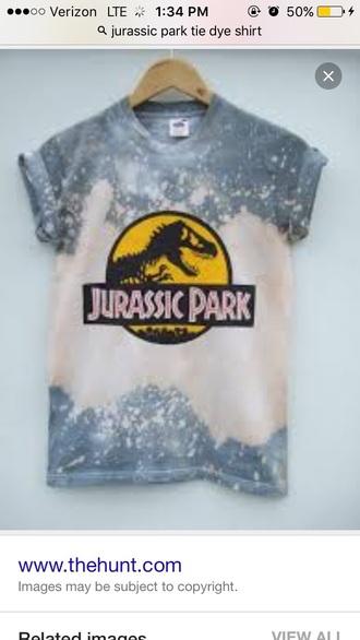 shirt tie dye jurassic park tie dye jurassic park tie dye shirt