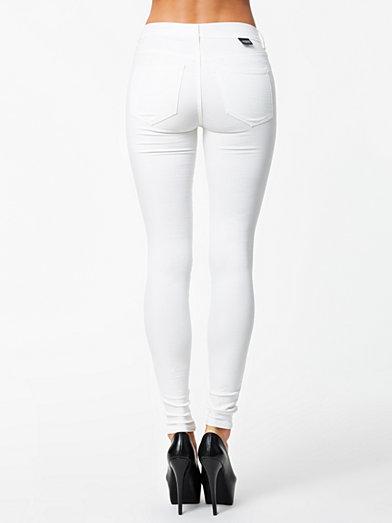 Plenty Colored Leggings - Dr Denim - Hvid - Jeans - Tøj - Kvinde - Nelly.com