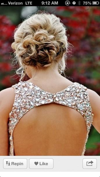 dress prom jewels