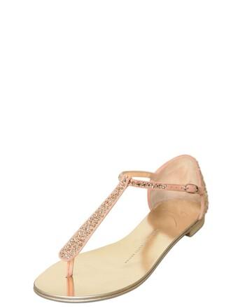 embellished flats suede rose shoes
