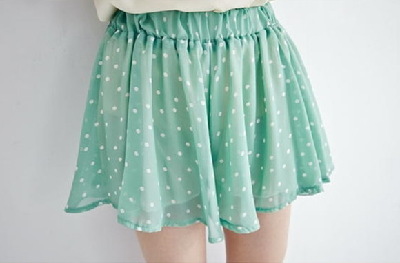clothes style chic polka dots