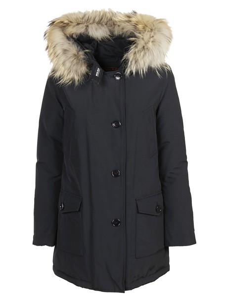 parka dark navy coat