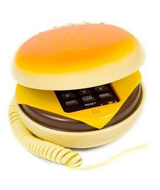 home accessory phone cool trendy fashion style hamburger teenagers cheese funny it girl shop