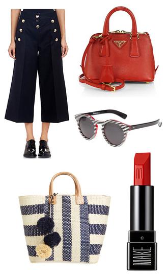 the sense blogger pants bag sunglasses make-up swimwear shoes dress shorts top jewels skirt scarf