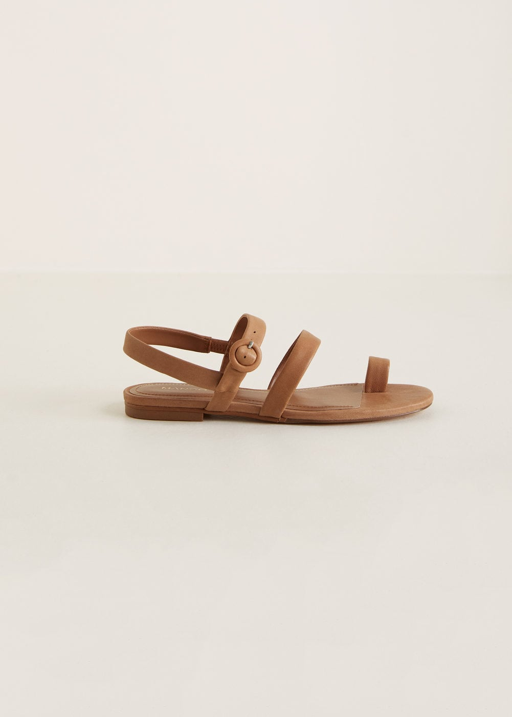 Tiras Zapatos MujerMango España Piel De Sandalia bm7gfIY6yv