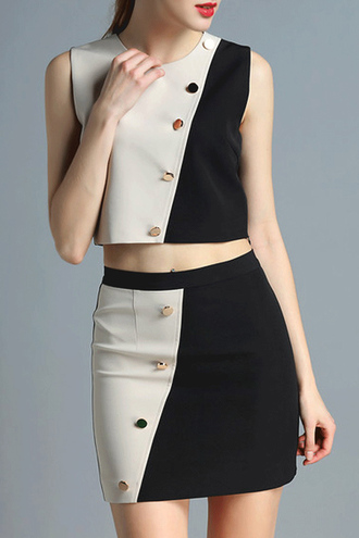 dress dezzal black nude formal dress casual fashion