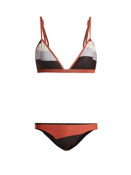 bikini triangle bikini triangle print swimwear