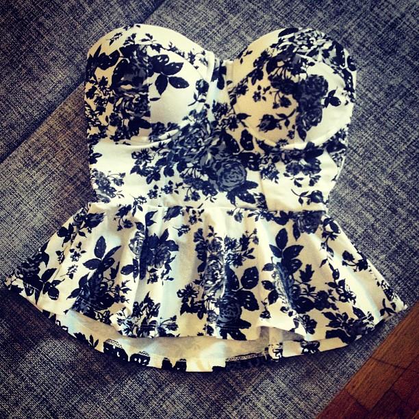 Ur garderoben: Bustier | Isabellepalmgren- Modeblogg
