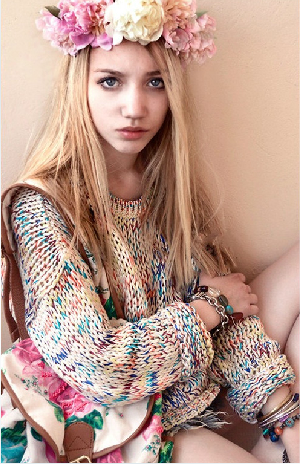 2013 autumn and winter sweet gentlewomen topshop vintage all match rainbow yarn jumper sweater-inCardigans from Apparel & Accessories on Aliexpress.com