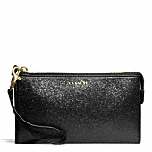 Coach :: LEGACY ZIPPY WALLET IN GLITTER FABRIC